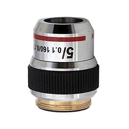 AmScope 5X Achromatic Microscope Objective