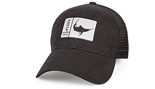 - Costa Del Mar Original Patch Marlin Trucker Hat-Black