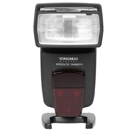 YONGNUO YN-568EX II 4-Channel TTL Flash Speedlite for Canon E-TTL/E-TTL II Cameras (Best Yongnuo Flash For Canon 60d)