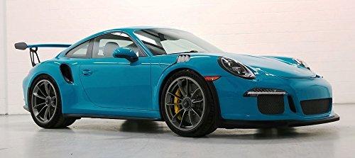 Porsche 911 (991) GT3 RS in Miami Blue Composite Die-cast Model in 1:18 Scale by AUTOart