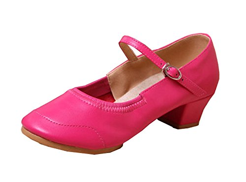 Rose Modern Red Sneakers VECJUNIA Soft Summer Dance Fitness Sole Ladies Shoes wqZBz