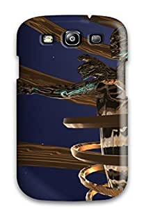 Awesome SBrcOwQ1145BPxmO John A Covey Defender Tpu Hard Case Cover For Galaxy S3- Abstract4
