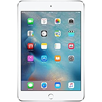 Apple iPad mini 4 (128GB, Wi-Fi, Silver)