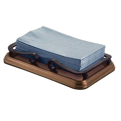 Interdesign york guest towel holder tray for bathroom for Bathroom accessories uae