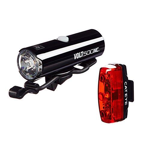- CAT EYE - Volt 100 XC Rechargeable Headlight and Rapid Micro Rear Bike Light