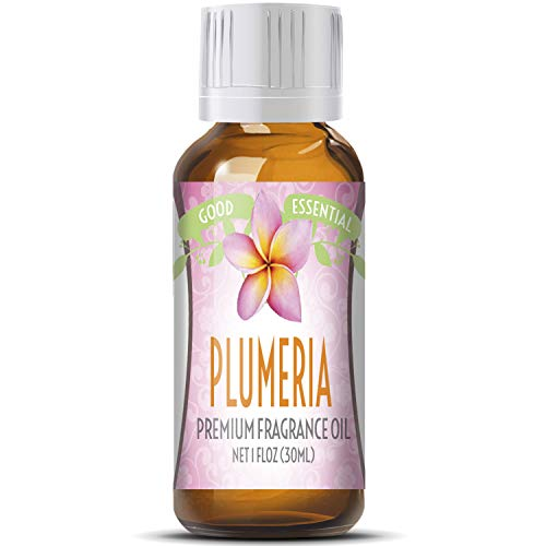 Plumeria Scented Oil by Good Essential (Huge 1oz Bottle - Premium Grade Fragrance Oil) - Perfect for Aromatherapy, Soaps, Candles, Slime, Lotions, and More!