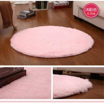 WSLOVEHHY Ronda de lana suave y absorbente encantador salón