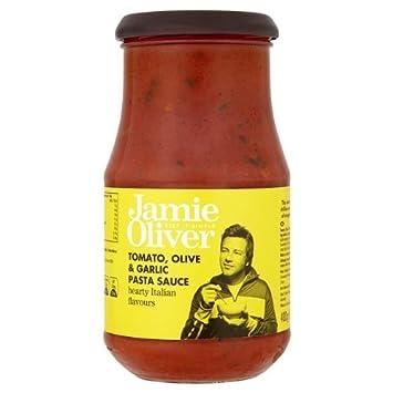 Jamie Oliver Tomato Olive Garlic Pasta Sauce 400g Amazonde