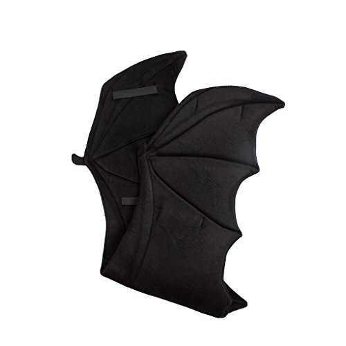 Wildlife Tree Plush Black Bat Wings For Kids Bat Costume, Dragon Costume, Cosplay and Pretend (Dragon Costumes For Children)