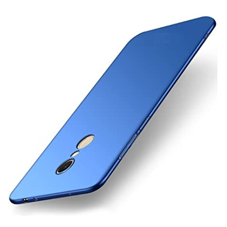 best website a9a2e 45130 RIdhaniyaa 360 Degree Matte Hard Case Cover for Redmi Note 5 (Royal Blue)
