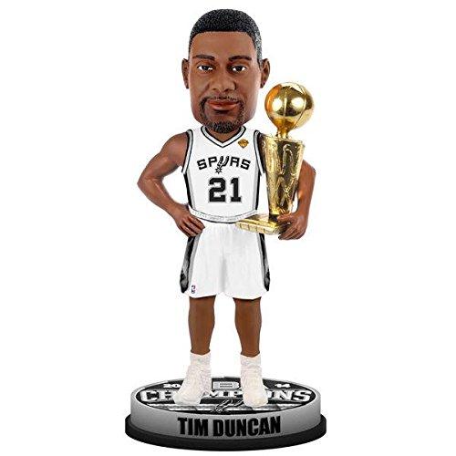 San Antonio Spurs Tim Duncan Trophy 2014 Champ Bobble Head