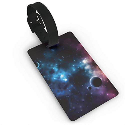 Total Solar Eclipse 2017 Luggage Tag Initial Bag Tag Etag Holders PVC (First Look At The 2017 Total Eclipse)