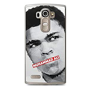 Muhammad Ali LG G4 Transparent Edge Case - Heroes Collection