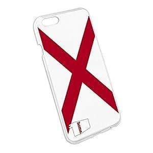 Alabama AL Home State Slim Fit Case for Apple iPhone 4 4s - Flag