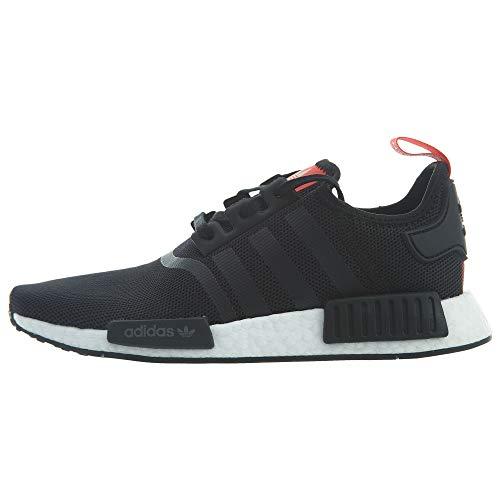 3b26bf13b adidas Kid s Sneaker B42087 NMD Black Red (4.5M US