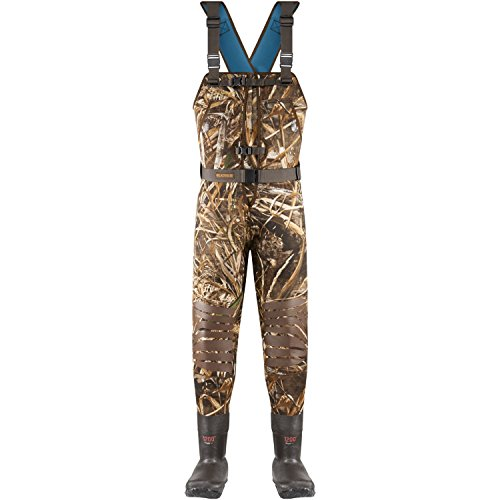 Brush Tuff Waders - Lacrosse Women's Estuary Wader 1200G, Realtree Max-5-8-R