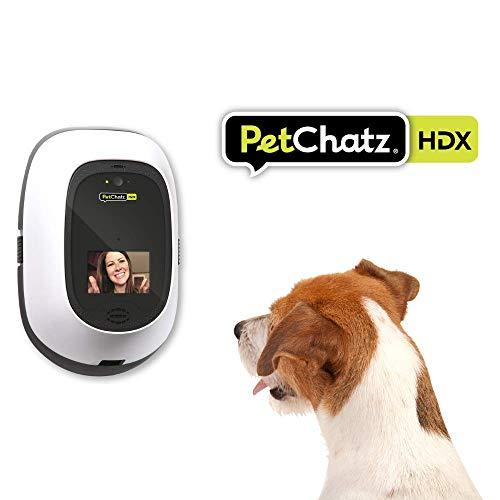 PetChatz HDX: [New] USA Made Luxury 2-Way Audio & Video Pet Treat Camera, HD 1080p, Motion/Sound Detection Smart Video…
