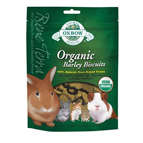 Oxbow Animal Health Barley Biscuits Bene Terra Organic Food and Treats, -