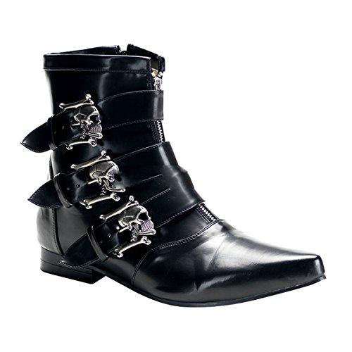 Demonia Brogue-06 - gothique punk Pikes bottes chaussures unisex 40-46