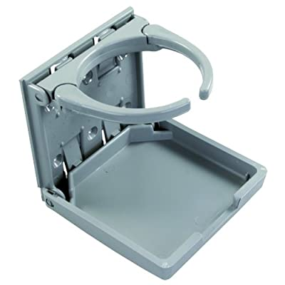 JR Products 45622 Gray Adjustable Cup Holder: Automotive