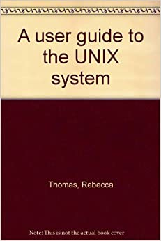 A user guide to the UNIX system