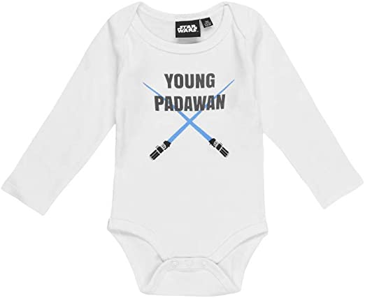 Star Wars Body para bebé. Blanco 18 meses: Amazon.es: Ropa