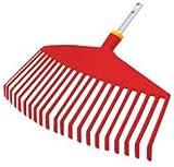 WOLF-Garten UIMC Multi-Change Leaf Rake Lawn Care Tool Head, Red
