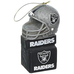 Team Sports America 3OT3822MAS Oakland Raiders Mascot Ornament