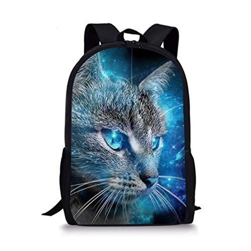 H2323c School Cat W3760G Adorable Backpack Set 3Pcs YfqHw0A