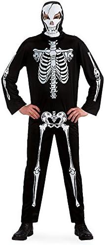 Carnival Toys 82025 - skelet kostuums voor volwassenen, overall