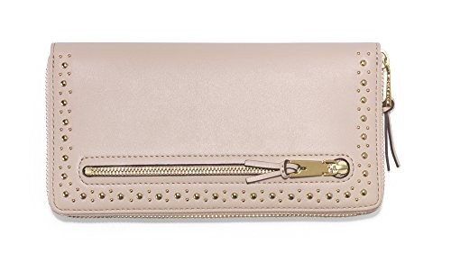 MARLI STUDDING CONTINENTAL WALLET Wallet, PINK NUDE, One Size by Cole Haan