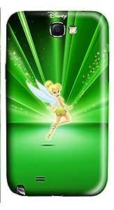 Samsung Note 2 Case Green Flower Fairy 3D Custom Samsung Note 2 Case Cover