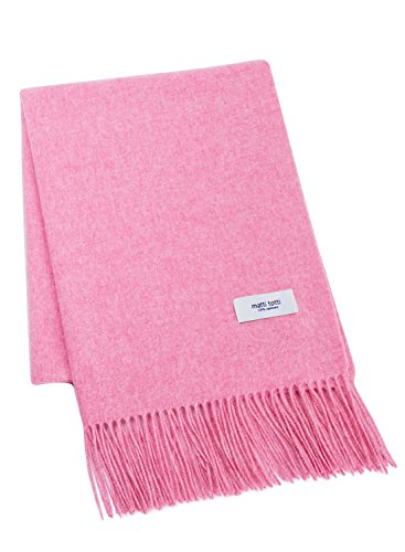 Pale Pink 100% Cashmere Shawl Stole Women Gift Scarves Wrap Blanket A1814B1-18 by matti totti (Image #7)