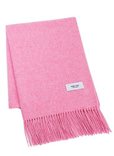 Pale Pink 100% Cashmere Shawl Stole Women Gift Scarves Wrap Blanket A1814B1-18 by matti totti
