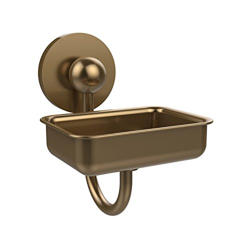 (Allied Brass P1032-BBR Prestige Skyline Collection Wall Mounted Soap Dish, Brushed Bronze)