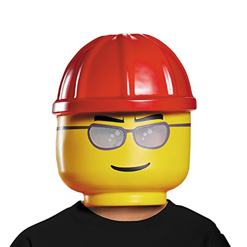 LEGO Construction Worker Mask, One Size by Disguise (Image #1)