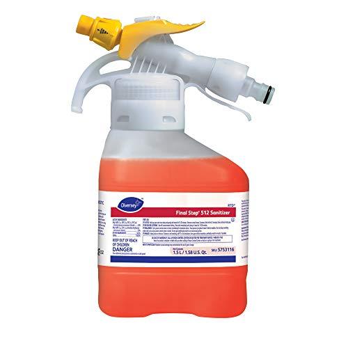 Diversey Final Step TM/MC 512 Sanitizer (1.5-Liter, Case of ()