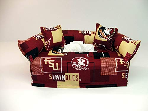 State Tissue Box Cover - Florida State University Tissue Box cover. Includes Tissue