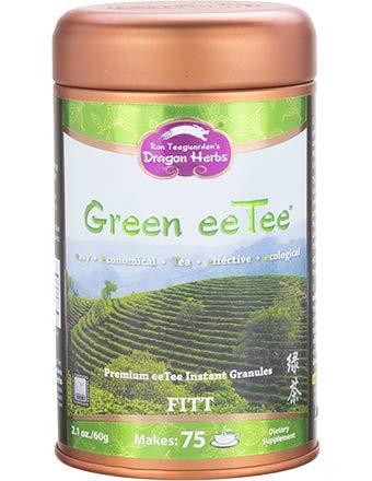 Dragon Herbs Green Tea Eetee 30 servings Organically Grown Green Tea 2.1 oz 60 grams Premium Tea Instant Granules