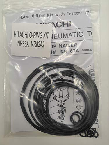 NR83A NR83A2 O-RING Kit For Hitachi Full Round Head Framing Nailer With Trigger O-Ring (Framing Nailer O-ring)