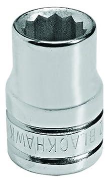 Blackhawk By Proto 34020M 12-Point 20mm Drive Socket, 3/8-Inch Blackhawk By Proto 34020M 12 Point 20mm Drive Socket