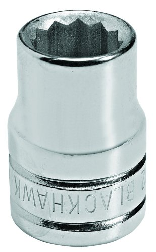Blackhawk By Proto 42022M 12 Point 22mm Drive Socket, 1/2-Inch