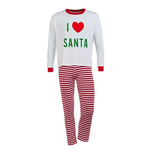 Xmas Family Clothes Hurrybuy Men Letter T Shirt Tops Striped Pants Pajamas Christmas Set Family Clothes