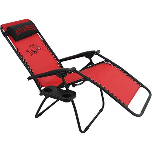 College Covers NCAA Arkansas Razorbacks Zero Gravity Chair by College Covers