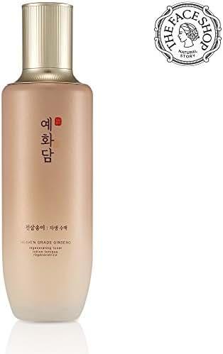 [THEFACESHOP] Yehwadam Heaven Grade Ginseng Regenerating Toner, Premium Skin Care, Traditional Korean Herbs And Ginseng For Anti-Aging Treatment (155mL/5.24 Oz)
