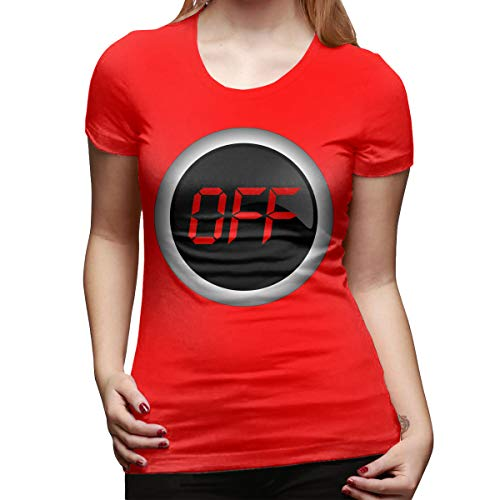 Ida Piers Off Women's Short Sleeve T Shirt Color Red Size -