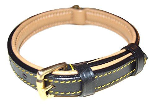 Soft-Touch-Collars-Luxury-Real-Leather-Padded-Dog-Collar