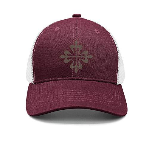 (NIANLJHDe Unisex Womens Patek-Philippe-Logo- Adult Cotton Embroidered Profile Caps)