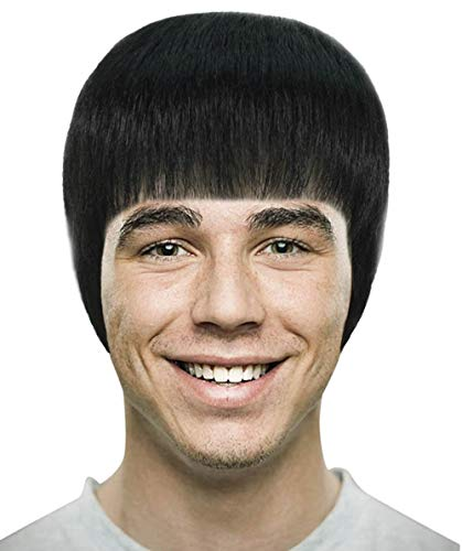 Wig for Cosplay Kung Fu Bruce Lee -
