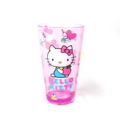 Hello Kitty Sanrio Apple Acrylic Cup, Baby & Kids Zone
